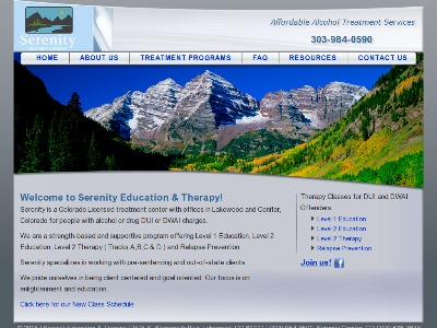 Serenity Education And Therapy Conifer