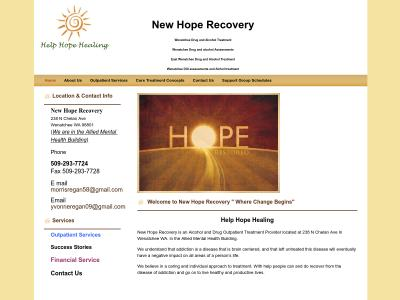 New Hope Recovery Wenatchee