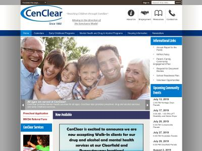 Cen Clear Child Services Inc Clearfield