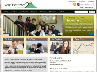 New Frontier Treatment Center Fallon