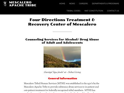 Four Directions Treatment And Mescalero