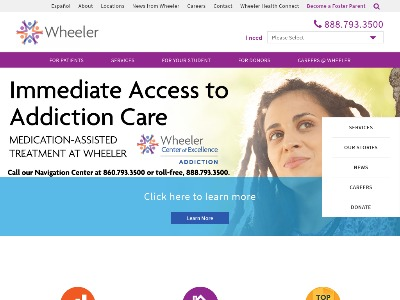 Wheeler Clinic Inc Plainville