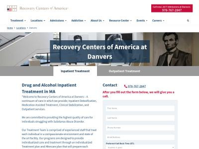 Recovery Centers Of America Danvers