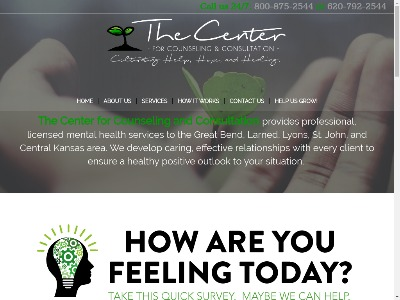 Center For Counseling Great Bend