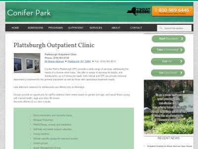 Conifer Park Inc Plattsburgh