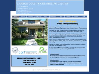 Carbon County Counseling Center Rawlins