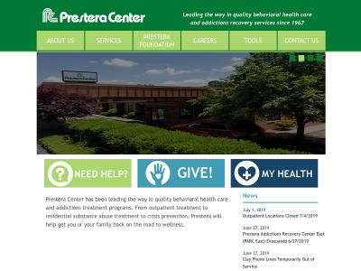 Prestera Center For MH Services Inc Charleston