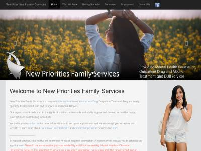 New Priorities Family Services Redmond