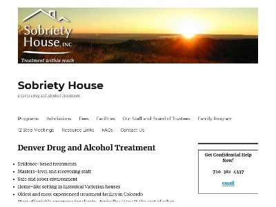 Sobriety House Inc Denver