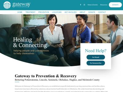 Gateway To Prevention And Recovery Shawnee