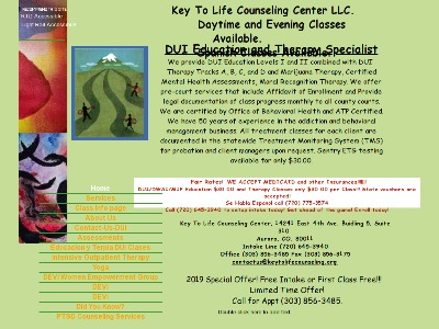 Key To Life Counseling Center LLC Aurora