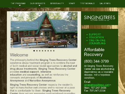 Singing Trees Recovery Center Garberville