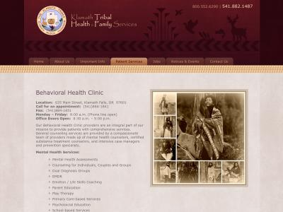 Klamath Tribal Health And Family Servs Klamath Falls