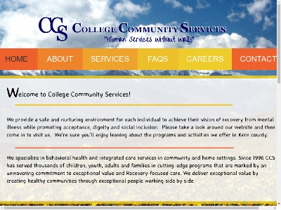 College Community Services Mojave