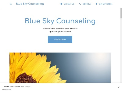 Blue Sky Counseling Waterville