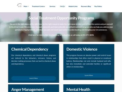Social Treatment Opportunity Programs Puyallup