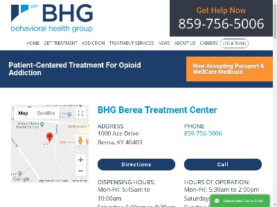 Behavioral Health Group Berea