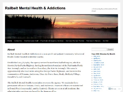 Railbelt Mental Health And Addictions Nenana
