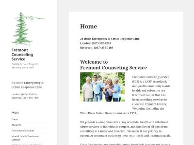 Fremont Counseling Service Riverton