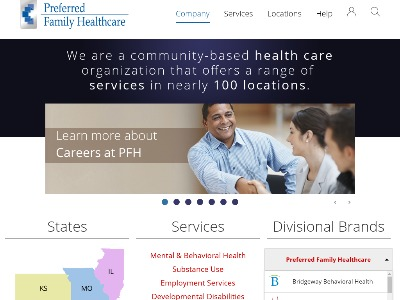 Preferred Family Healthcare Inc Warrenton
