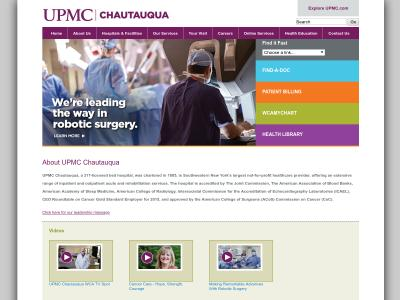 UPMC Chautauqua WCA IP Jamestown