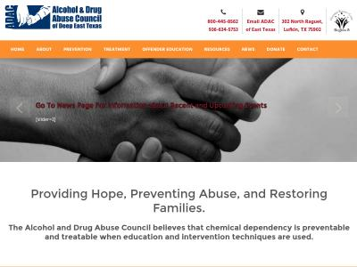 Alcohol And Drug Abuse Council Of Nacogdoches