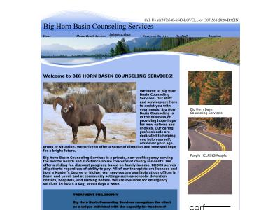 Big Horn Basin Counseling Services Basin