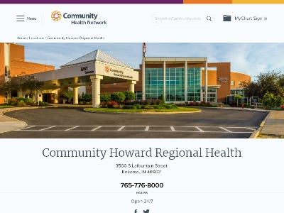 Community Howard Regional Health Frankfort