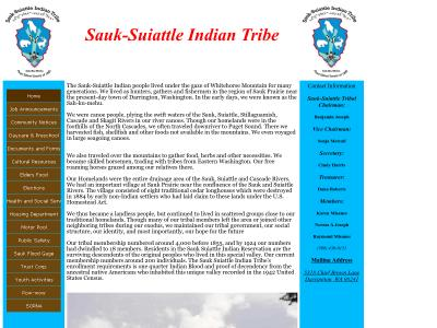Sauk-Suiattle Indian Tribe Darrington