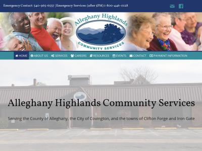 Alleghany Highlands Community Services Covington