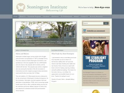 Stonington Institute North Stonington