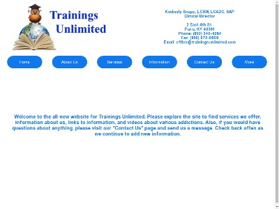 Trainings Unlimited Mount Sterling