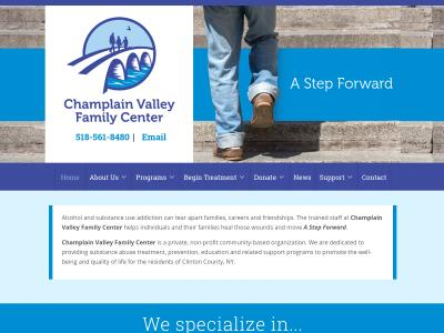 Champlain Valley Family Center Plattsburgh