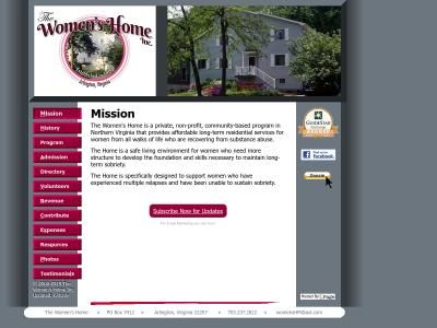 Womens Home Inc Arlington