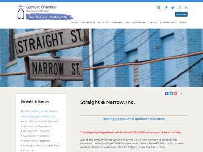 Straight And Narrow Inc Paterson