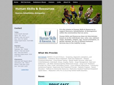 Human Skills And Resources Inc Claremore