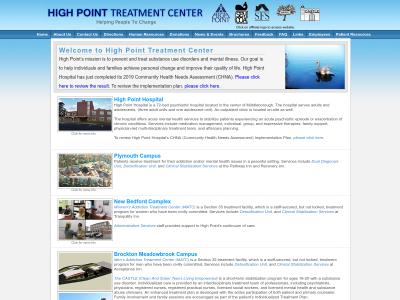 High Point Treatment Center Inc Plymouth