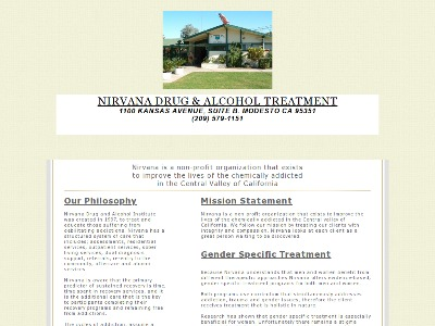 Nirvana Drug And Alcohol Institute Modesto