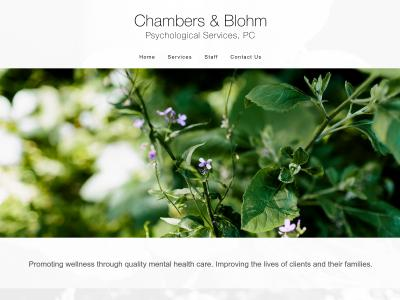 Chambers And Blohm Psych Services Bismarck