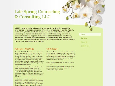 Life Spring Counseling And Consulting Hyattsville