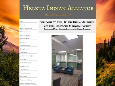 Helena Indian Alliance Helena