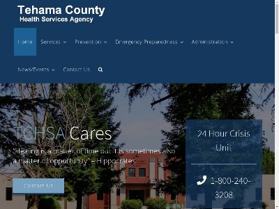 Tehama County Health Services Agency Red Bluff