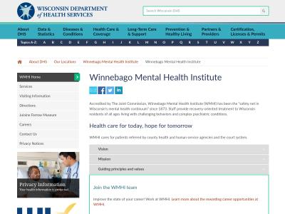 Winnebago Mental Health Institute Oshkosh
