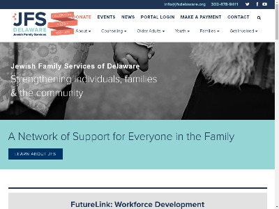 Jewish Family Services Of Delaware Wilmington