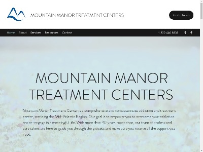 Mountain Manor Treatment Center Emmitsburg