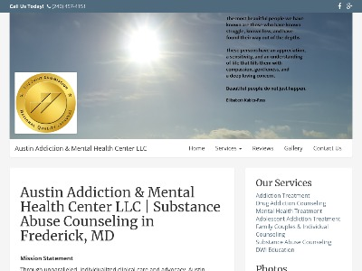 Austin Addictions And MH Center Frederick