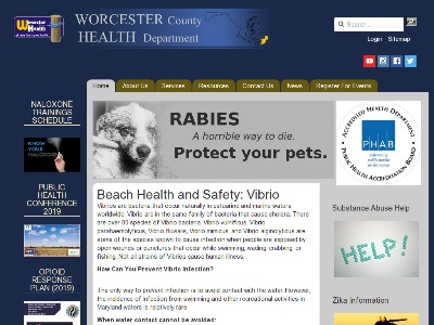 Worcester County Health Department Salisbury