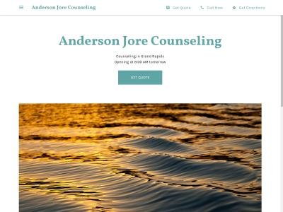 Anderson Jore Counseling Grand Rapids