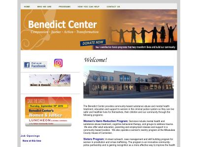 Benedict Center Milwaukee