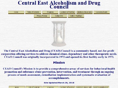 Central East Alc And Drug Council Charleston